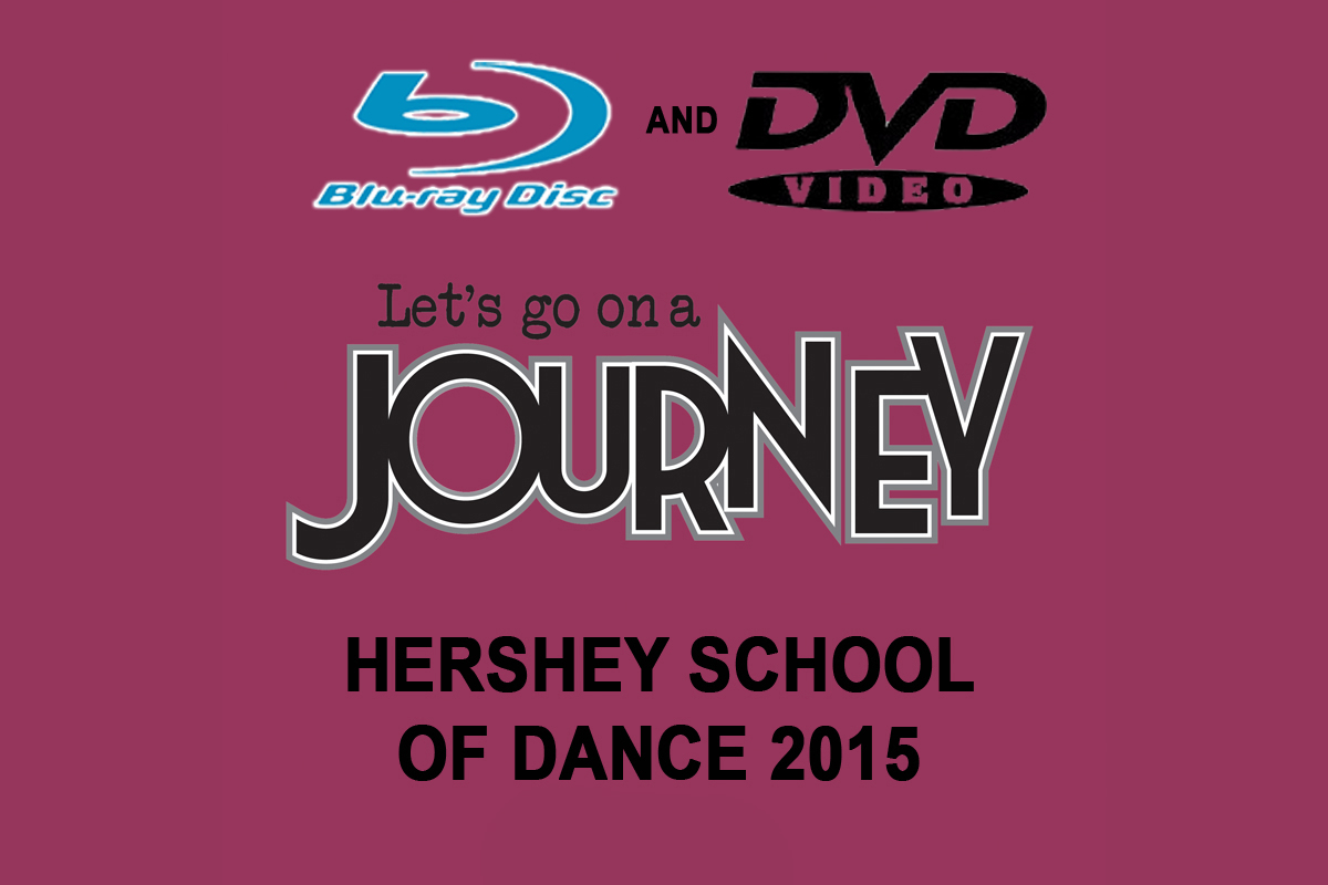 Hershey School Of Dance-2015 FRIDAY EVENING BLU RAY/DVD