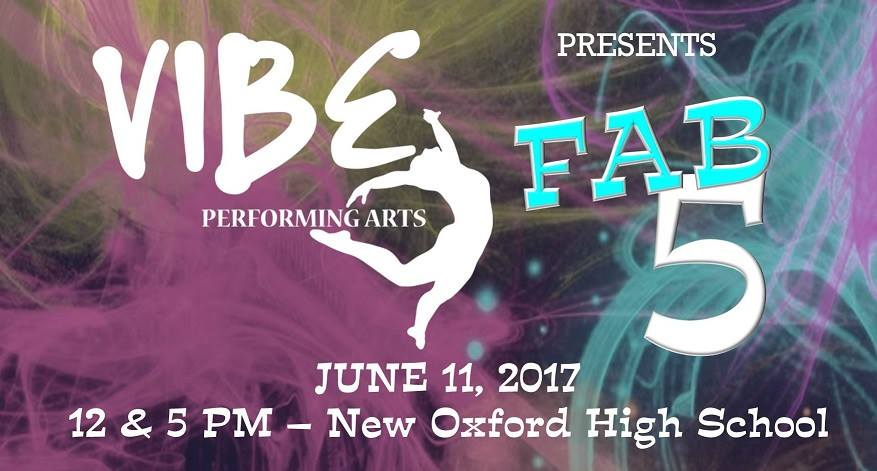 Vibe Performing Arts--BLU RAY/DVD set 2017