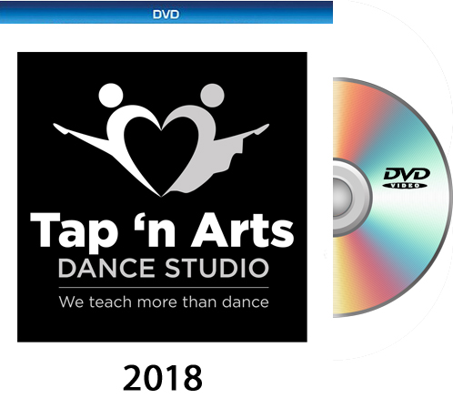 Tap n' Arts 2018 10:30am  DVD