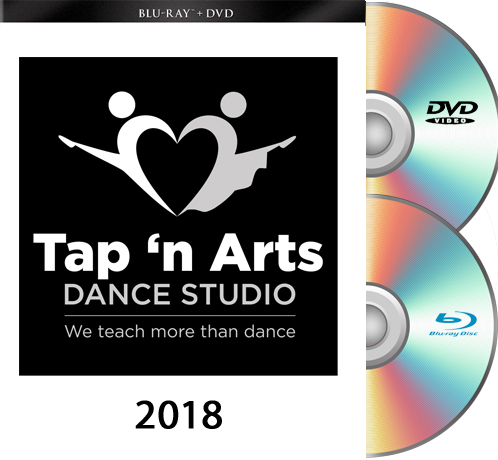 5-26-18 Tap n' Arts 2018 BOTH SHOWS  BLU RAY/DVD SET
