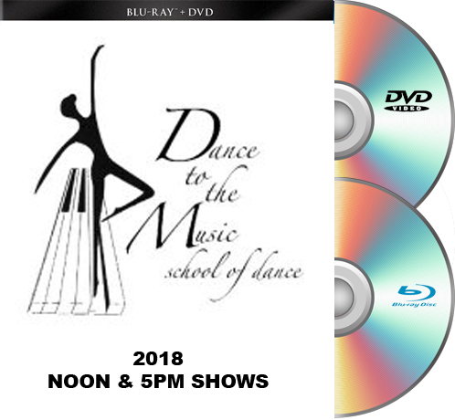 Dance To The Music 2018 BLU-RAY/DVD set BOTH SHOWS