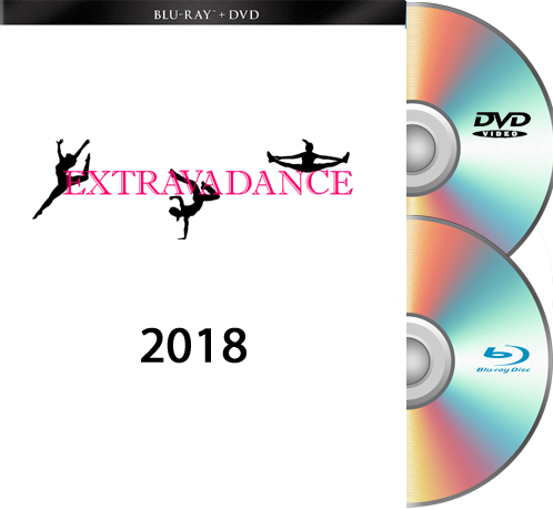 Extravadance Blu-Ray/DVD SET 2018