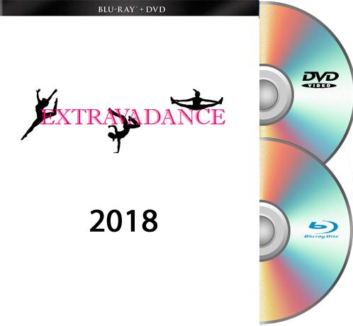 5-20-18 Extravadance Blu-Ray/DVD SET 2018