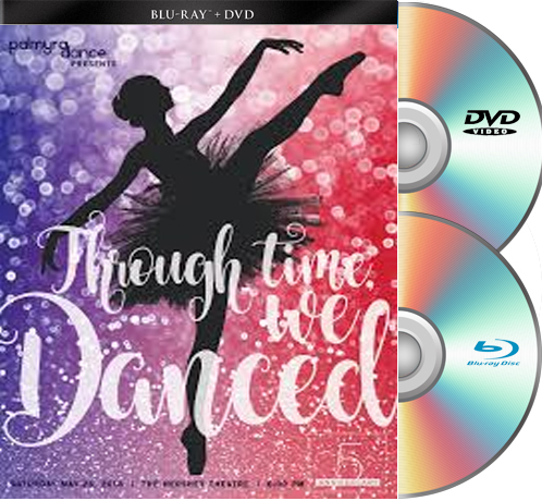 Palmyra Academy Of Dance-2018 BLU-RAY/DVD set