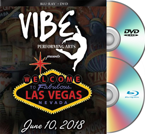 6-10-18 Vibe Performing Arts BLU RAY/DVD set 2018