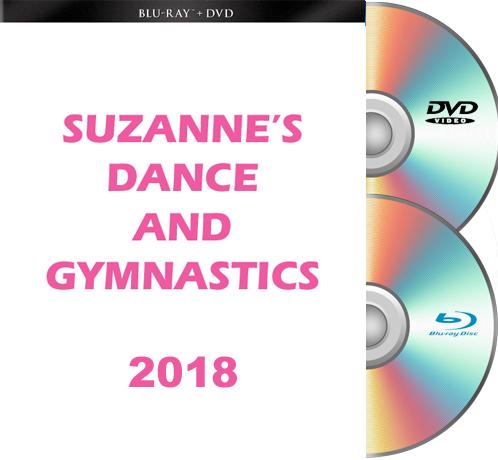 Suzanne's Dance & Gymnastics FRIDAY BLU RAY/DVD 2018