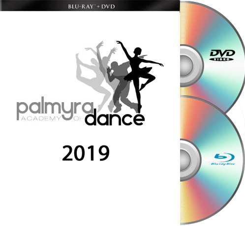 6-4-19 Palmyra Academy Of Dance-2019 BLU-RAY/DVD set