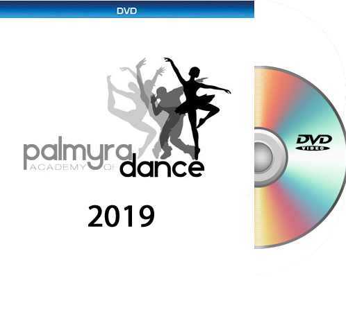 6-4-19 Palmyra Academy Of Dance 2019 DVD