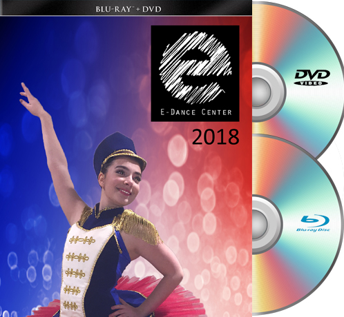 E-Dance Blu-Ray/DVD Set 2018