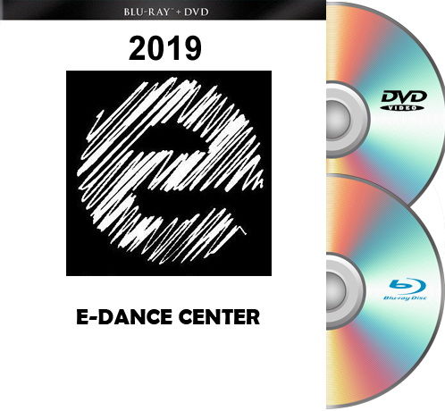 5- 2-19 and 5-3-19 E-Dance Blu-Ray/DVD Set 2019