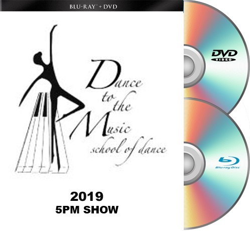 5-18-19-Dance To The Music 2019 BLU-RAY/DVD set 5pm Show