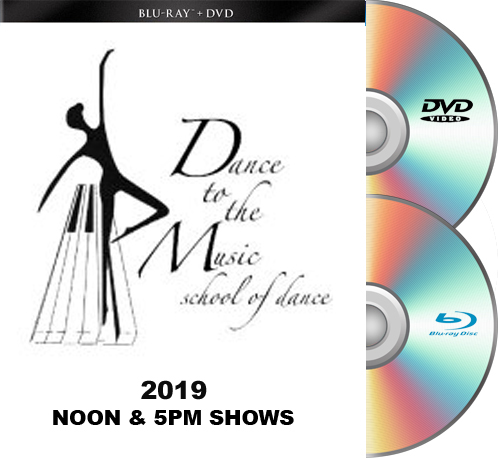 5-18-19-Dance To The Music 2019 BLU-RAY/DVD set BOTH SHOWS