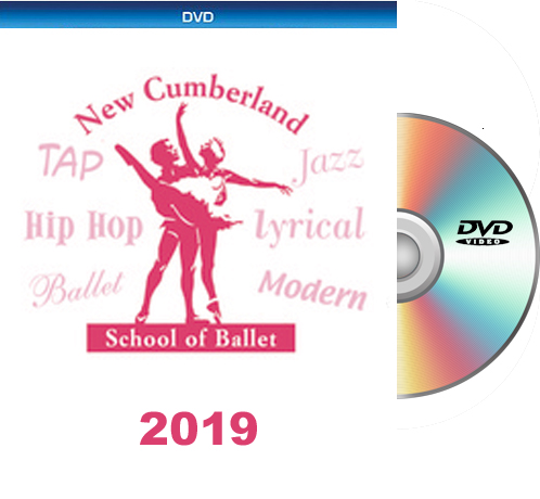 6- 2-19 New Cumberland School of Ballet BLU-RAY/DVD SET 2019