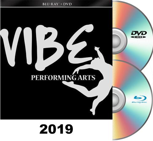 6- 9-19 Vibe Performing Arts BLU RAY/DVD set 2019