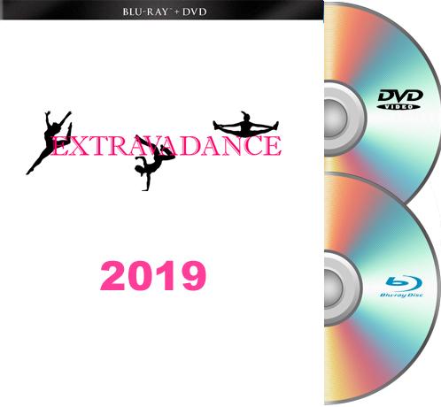 6- 9-19 Extravadance Blu-Ray/DVD SET 2019