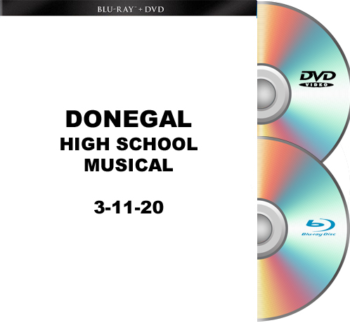3-11-20 Donegal High School Blu-Ray/DVD set