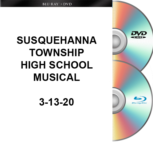 3-13-20 Susquehanna Township High School Blu-Ray/DVD set