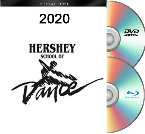 5-15-20 Hershey School Of Dance 2020  FRIDAY EVENING BLU RAY/DVD