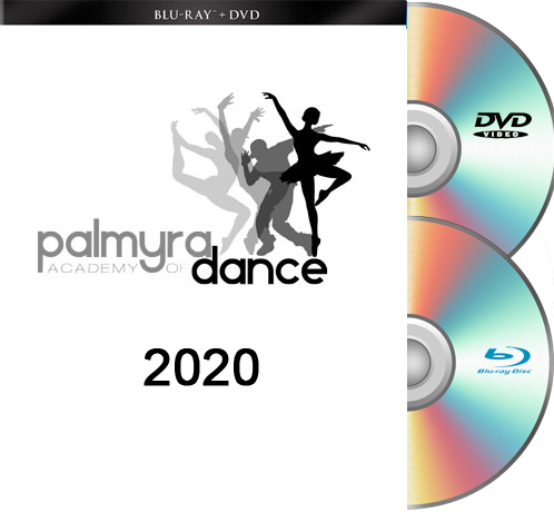 5-23-20 Palmyra Academy Of Dance-2020 BLU-RAY/DVD set