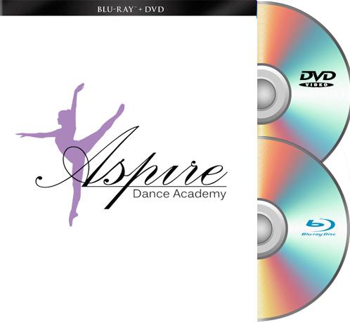 6-27-20 Aspire Dance Academy Blu-Ray/DVD set