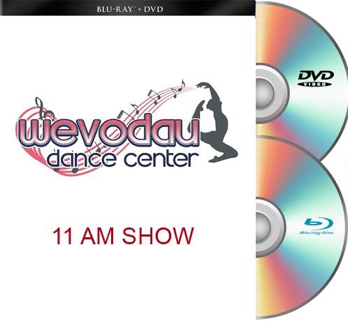 8-2-20 Wevodau Dance 2020 11AM BLU RAY/DVD