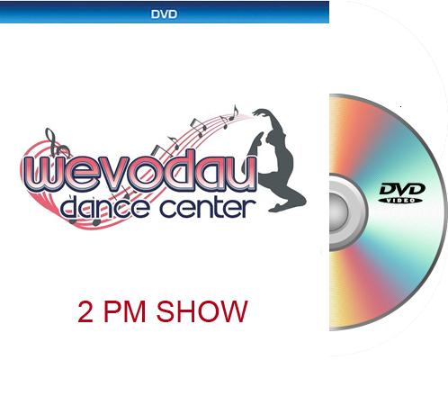8-2-20 Wevodau Dance 2020 2PM DVD ONLY