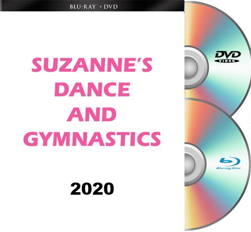 8-7-20 Suzanne's Dance & Gymnastics FRIDAY BLU RAY/DVD 2020