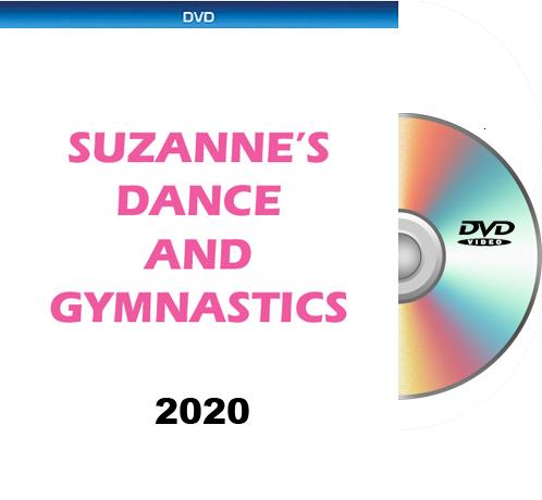 8-7-20 Suzanne's Dance & Gymnastics FRIDAY DVD 2020