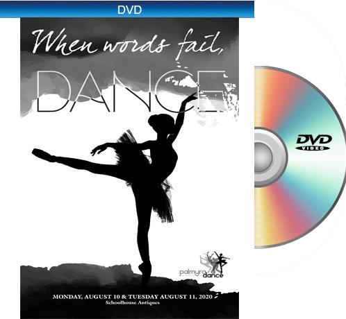 8-11&12-20 Palmyra Academy Of Dance 2020 DVD