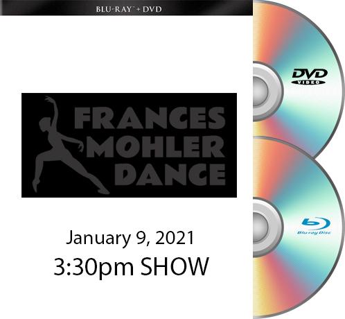 Frances Mohler BLU RAY/DVD SET 1-9-21 - 3:30pm Show