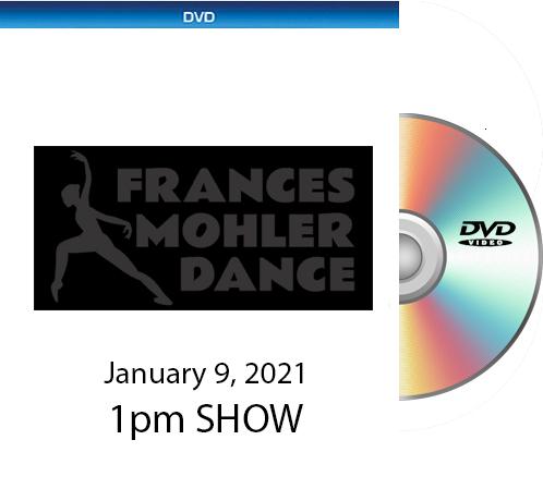 Frances Mohler DVD - 1-9-21 1pm Show