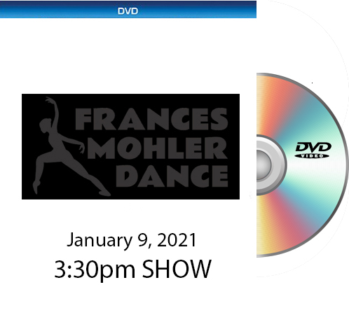 Frances Mohler DVD 1-9-21 - 3:30pm Show