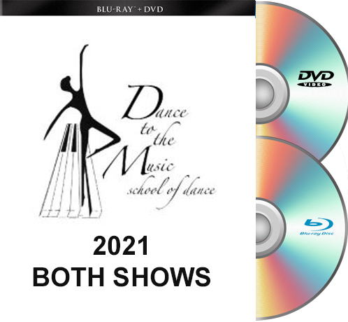 5-22&23-21 Dance To The Music 2021 BLU-RAY/DVD set BOTH SHOWS