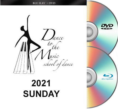 5-23-21 Dance To The Music 2021 BLU-RAY/DVD set SUNDAY Show