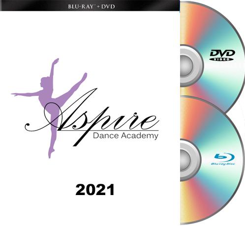 Aspire Dance Academy Blu-Ray/DVD set 2021
