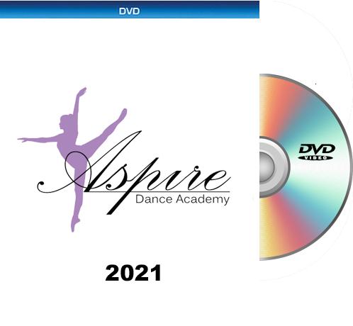 Aspire Dance Academy DVD 2021