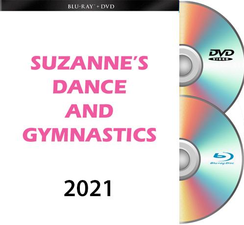 6-18-21 Suzanne\'s Dance & Gymnastics FRIDAY BLU RAY/DVD 2021