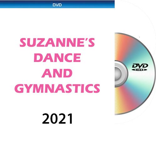 6-18-21 Suzanne\'s Dance & Gymnastics FRIDAY DVD 2021