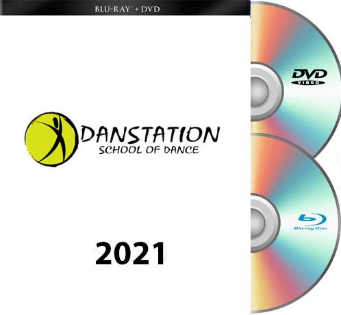 6-12-21 Danstation-2021 BLU-RAY/DVD set
