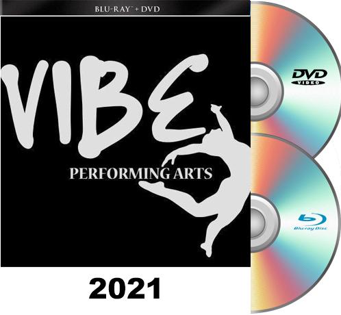 6-13-21 Vibe Performing Arts BLU RAY/DVD set 2021