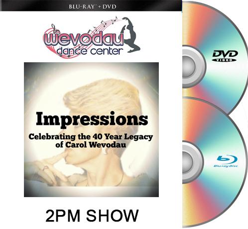 6-19-21 Wevodau Dance 2021 2PM BLU RAY/DVD