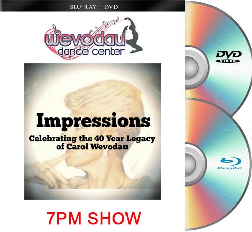 6-19-21 Wevodau Dance 2021 7PM BLU RAY/DVD